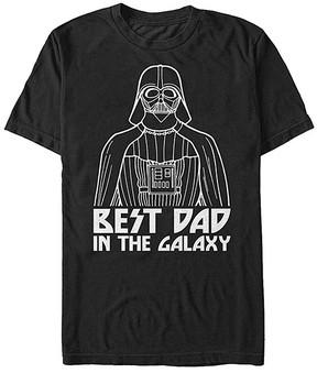 Fifth Sun Star Wars Black 'Best Dad' Tee - Men