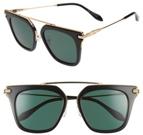 Sonix Women's Parker 55Mm Sunglasses - Black/ Green Solid