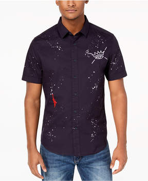 Sean John Men's Multi-Graphic Shirt, Created for Macy's