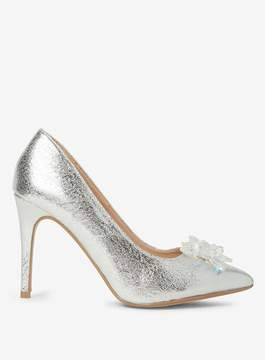Dorothy Perkins Silver 'Geneva' Icicle Court Shoes