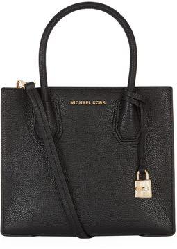 Michael Kors Medium Mercer Cross Body Bag - BLACK - STYLE