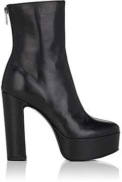 Barneys New York Women's Leather Platform Ankle Boots