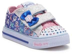 Skechers Shuffles Princess Paws Sneaker (Toddler)