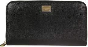 Dolce & Gabbana Zip Around Wallet - NERO - STYLE