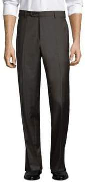 Zanella Devon Flat Front Wool Trousers