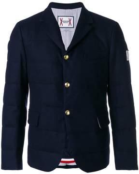 Moncler Gamme Bleu flap pockets padded jacket