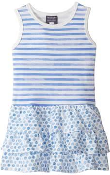 Toobydoo Ruffle Tank Dress (Toddler/Little Kids/Big Kids)