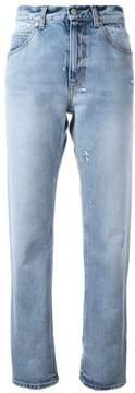 Alexander McQueen turn up boyfriend jeans