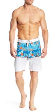 Burnside Tropical Stretch Board Shorts