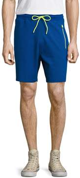 Bikkembergs Men's Cotton Side Striped Shorts