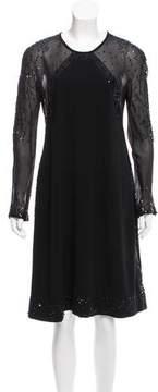 Strenesse Sequined Midi Dress