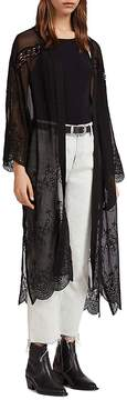 AllSaints Rosemarie Zinnia Broderie Anglaise Kimono