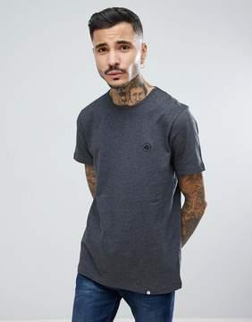 Pretty Green Mitchell Chest Logo T-Shirt in Gray