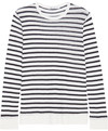 T by Alexander Wang - Striped Jersey Top - Ivory