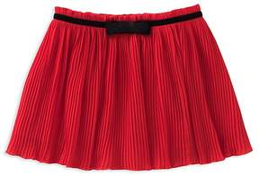 Kate Spade Girls' Pleated Chiffon Skirt - Big Kid