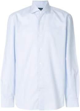 Barba small patterned shirt