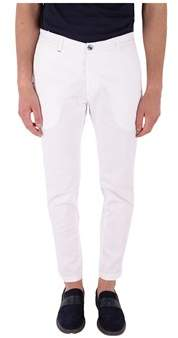 Re-Hash Men's White Cotton Pants.