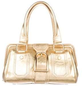 Celine Metallic Buckle Bag