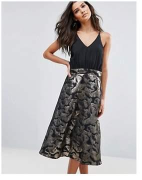 AX Paris Jaquard Mini Aline Dress