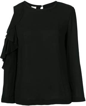Pinko cut out shoulder top
