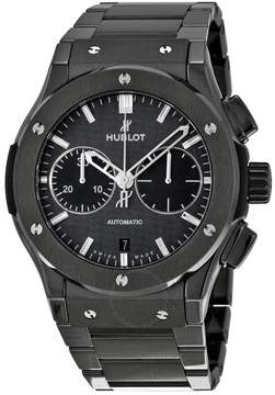 Hublot Classic Fusion Chronograph Black Magic Black Dial Automatic Men's Watch
