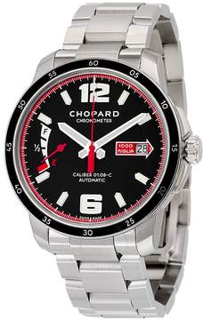 Chopard Millie Miglia GTS Automatic Black Dial Silver Stainless Steel Men's Watch