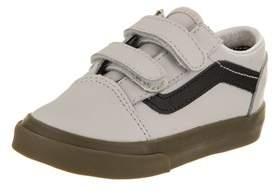 Vans Toddlers Old Skool V (bleacher) Skate Shoe.