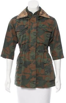 Fay Camouflage Utility Jacket w/ Tags