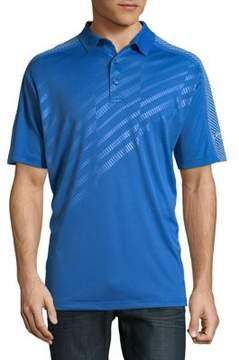 Callaway Opti-Dri Embossed Shoulder Short Sleeve Polo Golf Shirt