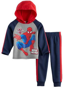 Marvel Toddler Boy Spider-Man 2-pc. Web-Head Hoodie & Pants Set
