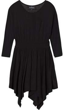 Little Remix Black Asymmetric Hem Dress