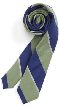 Nordstrom Boy's Stripe Wool & Silk Tie
