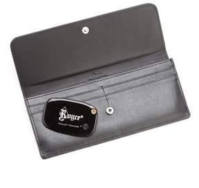 Royce Leather RFID-Blocking Freedom Wallet & GPS Tracker