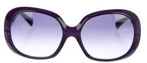 Emilio Pucci Gradient Round Sunglasses