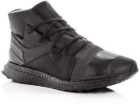 Y-3 Men's Kozoko Leather Mid Top Sneakers