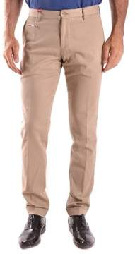Altea Men's Beige Cotton Pants.