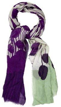 Diane von Furstenberg Abstract Woven Shawl