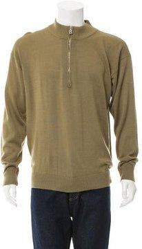 Bogner Mock Neck Half-Zip Sweater
