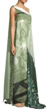 Etro Silk One Shoulder Gown