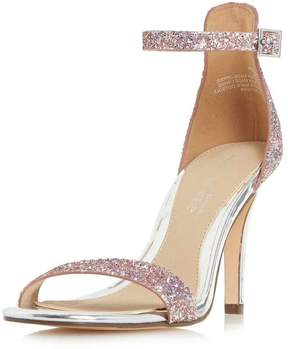 Head Over Heels **Head Over Heels by Dune Multi Coloured Glitter 'Madera' Sandals