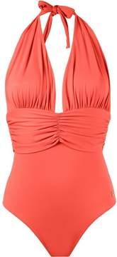 BRIGITTE deep neck swimsuit