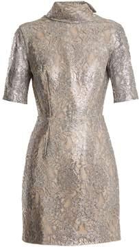 Emilia Wickstead Pearl floral-lace mini dress