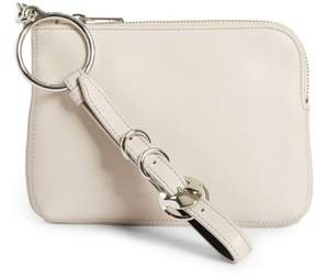 Alexander Wang Small Ace Leather Wristlet