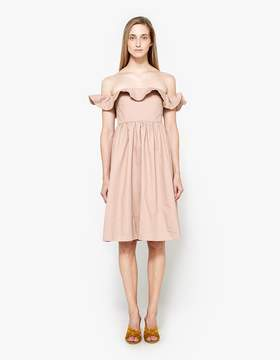Apiece Apart Novella Maria Dress in Mauve