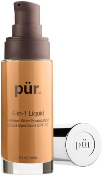 PUR Cosmetics 4-in-1 Liquid Foundation SPF 15 - Golden Dark