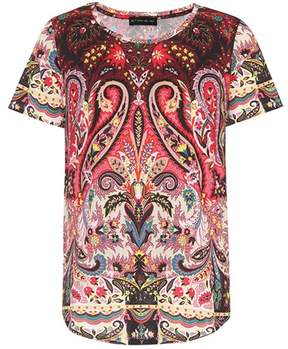 Etro Paisley-printed cotton T-shirt