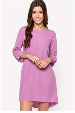 Everly Enlivened in Lavender Shift Dress