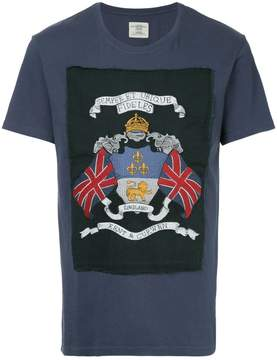 Kent & Curwen embroidered patch T-shirt