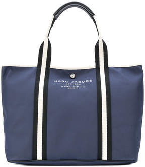Marc Jacobs logo tote - BLUE - STYLE