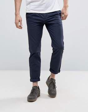 Kiomi Tapered Fit Chinos with Pleated Waistband